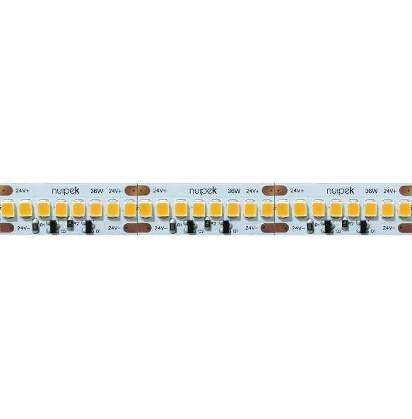 Tira de led 36W/m 24V color blanco Serie Line