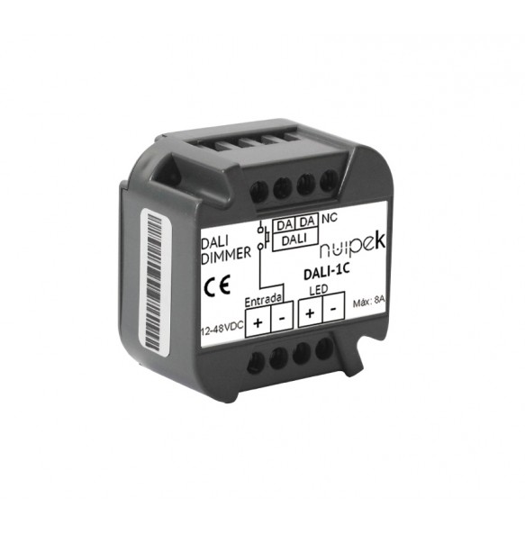 Controladores DALI  1 canal para tiras de tensión constante SERIE DALI