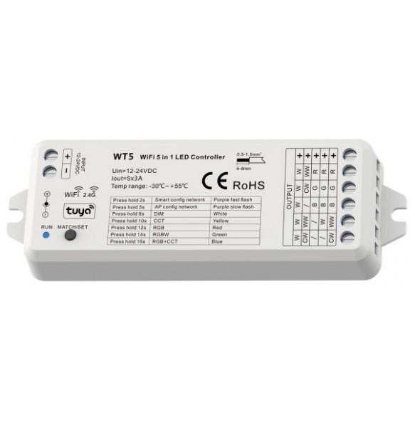 Controladorserie SMART-WIFI-WT5