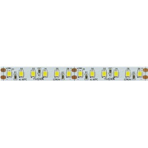Tira de led 12W/m 24V IRC90 color blanco Serie LINE (120 led/m)