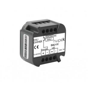 Controlador DALI  de 1 canal para tiras de tensión constante SERIE DALI