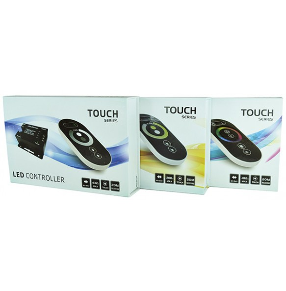 Controlador con mando a distancia DIM, CCT y RGB SERIE ECO